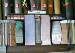 Shaw ClearTouch carpet display